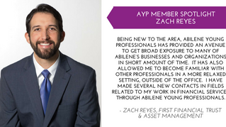 Zach Reyes Member Spotlight - Dec.