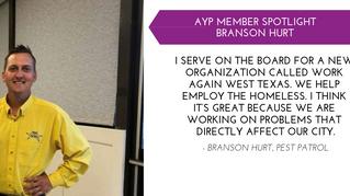 Branson Hurt YP Member Spotlight - Jan.