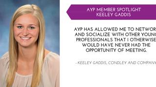 Keeley Gaddis YP Member Spotlight - May
