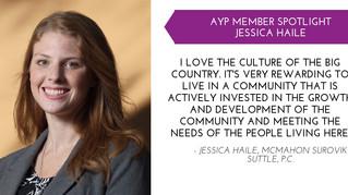 Jessica Haile YP Member Spotlight - Nov.