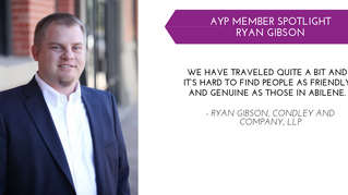 Ryan Gibson YP Member Spotlight - Oct.