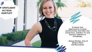 Alyssa Hartley YP Member Spotlight - March