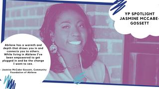 Jasmine McCabe-Gossett YP Member Spotlight - Jan.
