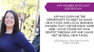 Jodi Riggan YP Member Spotlight - Jan.