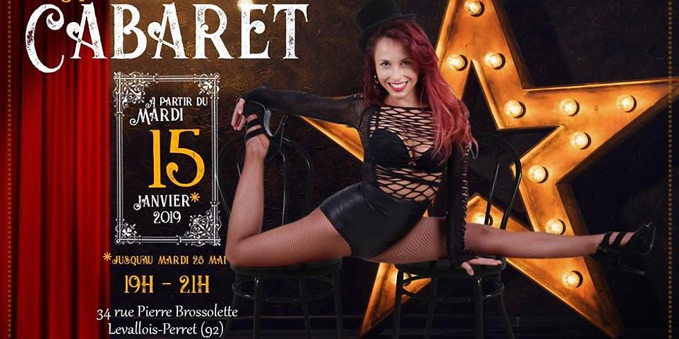 Stage cabaret latin heels