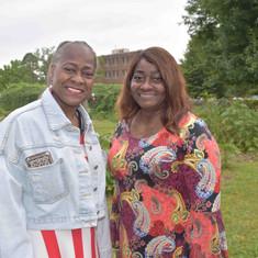 Dr. Sharon Richardson and Morris Crystal Porter