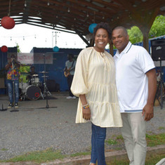 Kim Blann and Donell Meadows