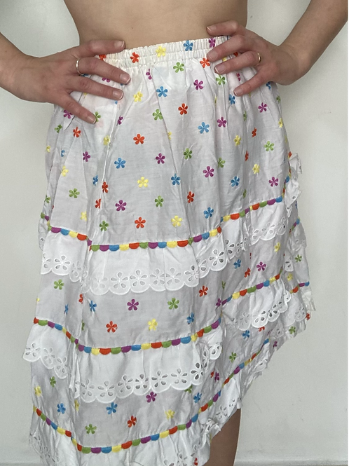 חצאית כותנה בתפירה אישית