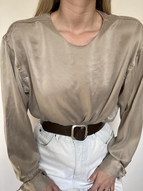 חולצת משי קורן