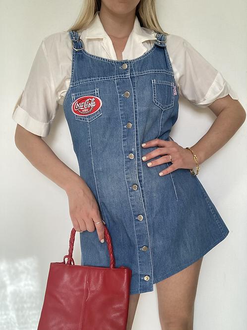 שמלת ג׳ינס cola petch