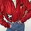Thumbnail: ג׳קט פליז Mickey Red vintage