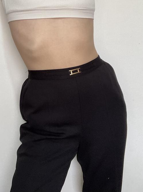 מכנס גומי בשילוב אבזם