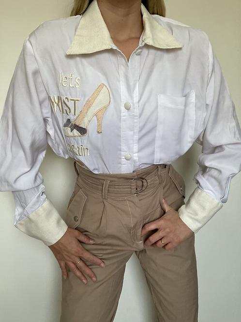 חולצת וינטג׳ LETS TWIST