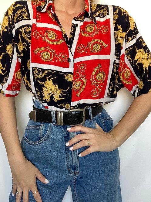חולצת וינטג׳ רוקוקו