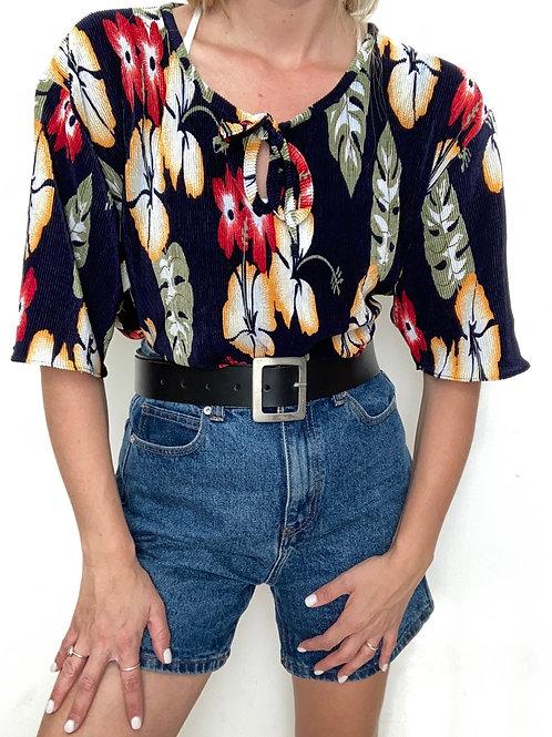חולצת פליסה וינטג׳ נורית
