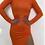 Thumbnail: שמלת לייקרה תפוזינה