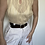 Thumbnail: חגורה חומה אבזם כסוף