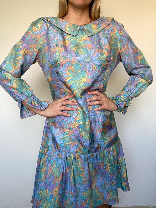 שמלת וינטג׳ 70׳ גלוריה
