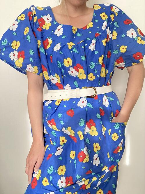 שמלת כותנה טרסה