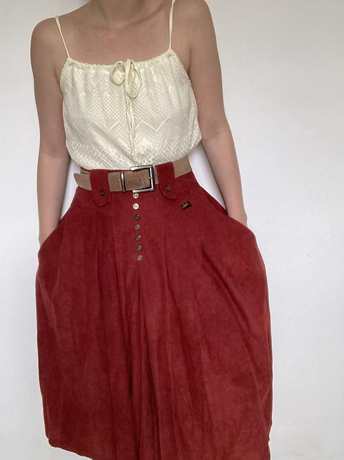 חצאית וינטג׳ קסטרו מודל