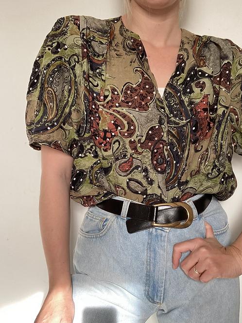 חולצת סבנטיז נוגה