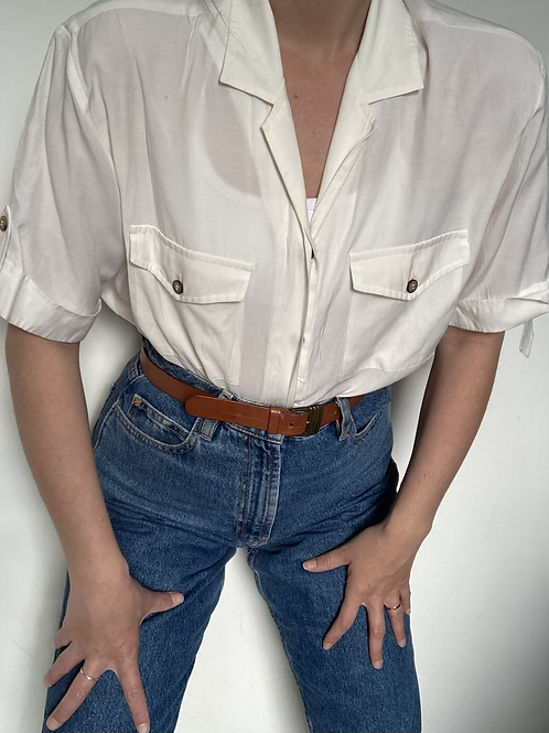 חולצת בייסיק וויט