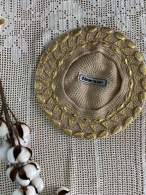 כובע בארט אבזמי זהב