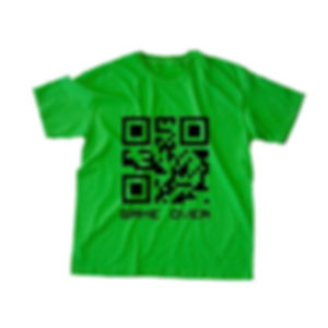 QRCode Tee Green