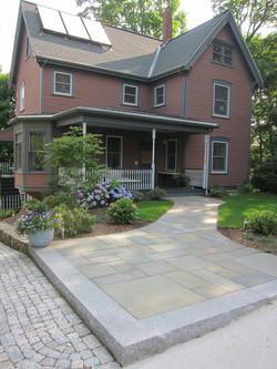 21 lasall front walkway