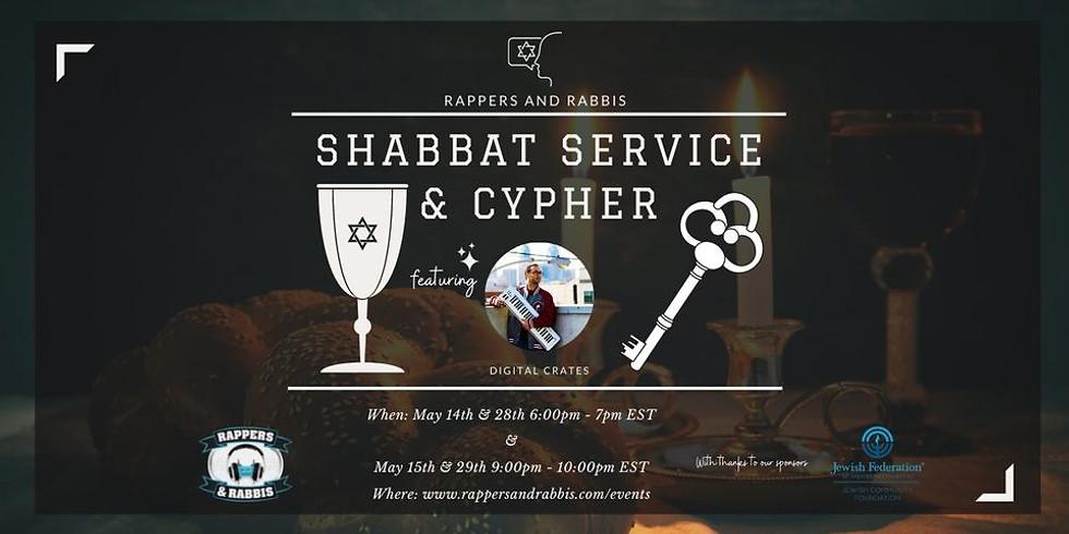 Shabbat Service & Cypher