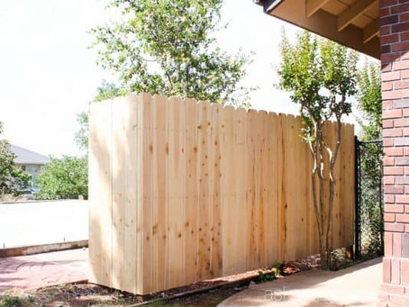 How To Stain Your New Fence!