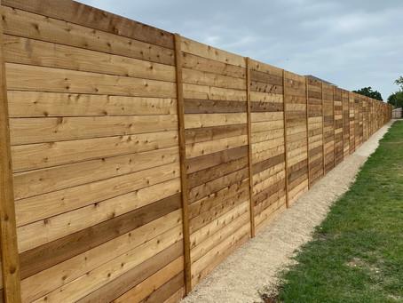 Georgetown Horizontal Fence