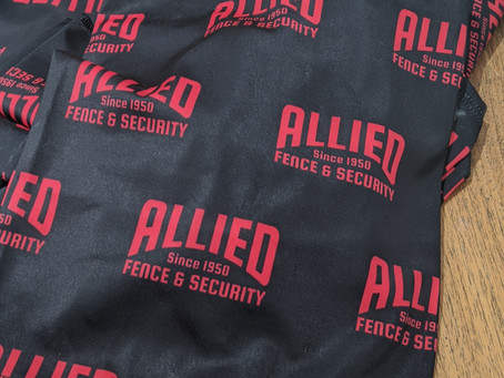 New Allied Fence Face Masks