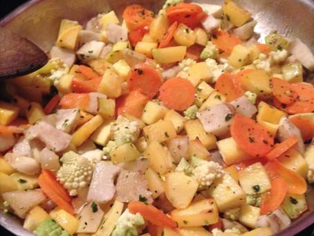 Poêlée hivernale aux légumes de saison