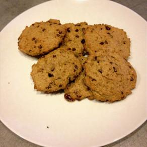 Cookies aux pépites de chocolat, sans gluten ni produits laitiers