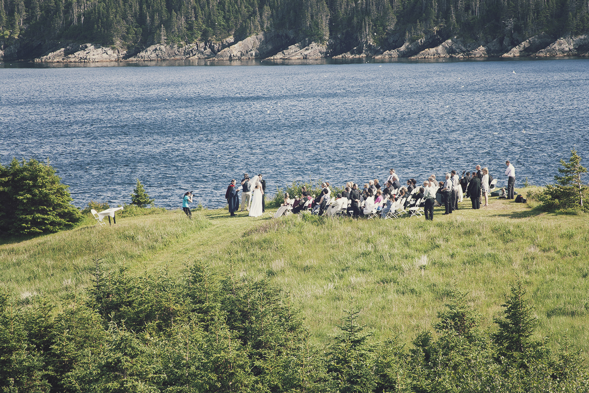Wedding on Bread & Cheese Point