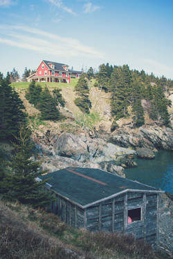 Our Inn Perched On the Cliff