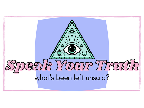 Speaking Your Truth is Terrifying... Do it Anyway