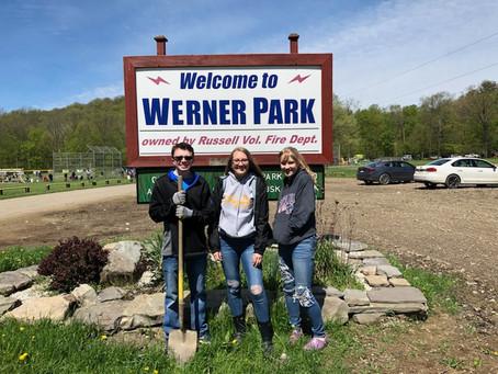 Werner Park Work Bee