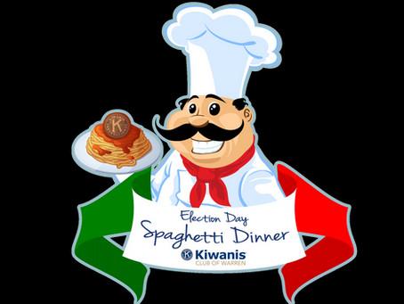 Spaghetti Dinner Tickets on Sale!!