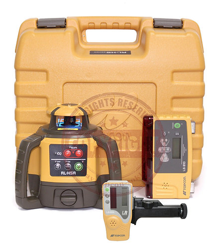 Topcon RL-H5A Self-leveling Rotary Grade Laser Level With LS-B10