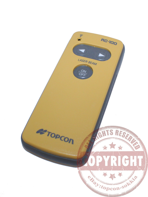 Topcon RC-100 Pipe Laser Remote
