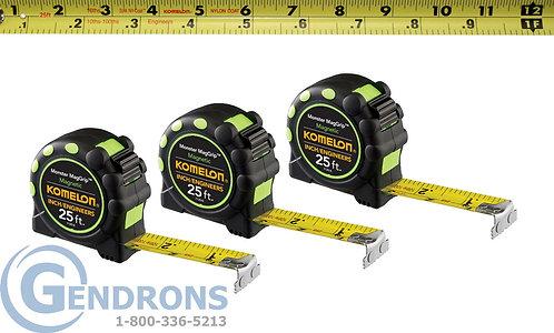 Komelon 7125IE  25' Magnetic Tape Measure