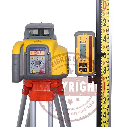 Spectra Precision GL422N + HL760 Self Leveling Rotary Laser Level Lenker Package