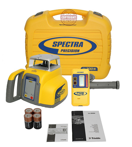 Spectra Precision LL300N Self Leveling Rotary Laser Level