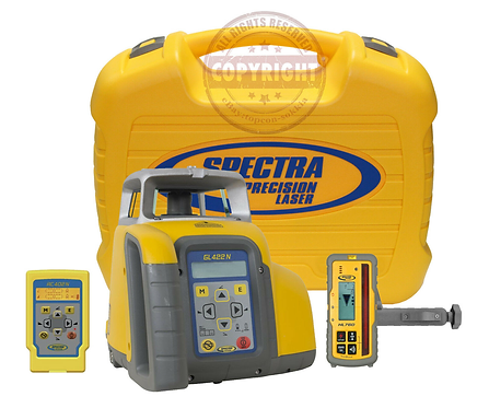 Spectra Precision GL422N + HL760 Self Leveling Rotary Laser Level