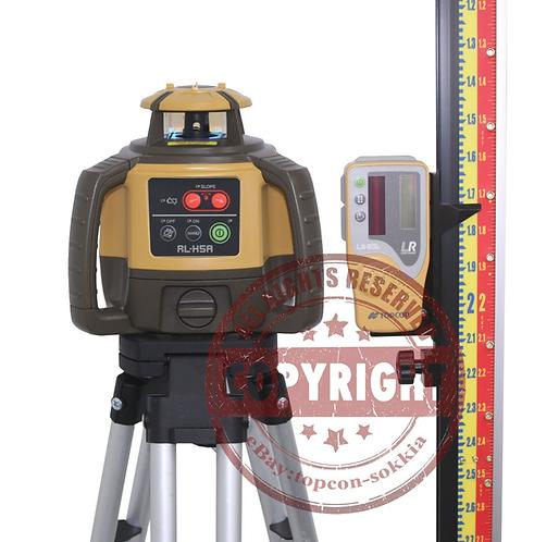 Topcon RL-H5A Self-leveling Rotary Grade Laser Level 10' Lenker Rod Packag