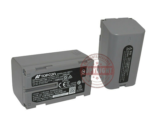 TPI BDC72 Battery for Total Stations & Lasers