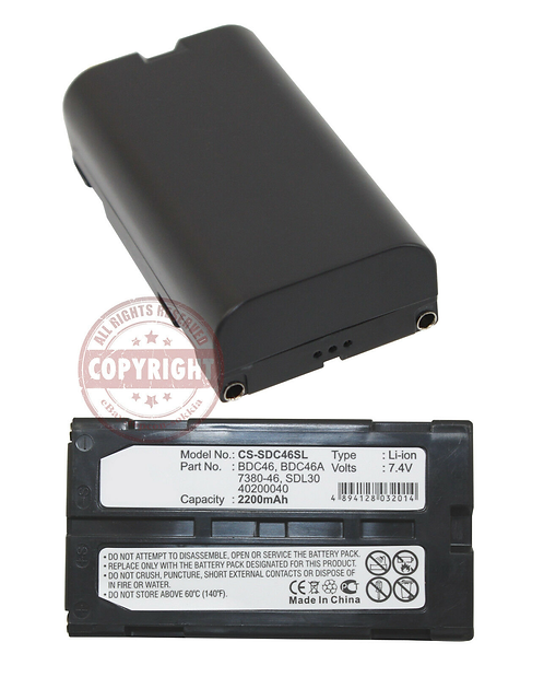 TPI BDC46A Battery for Sokkia Total Station