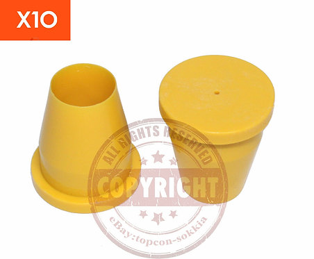 Blank Yellow Surveyors Caps